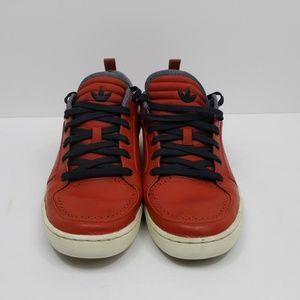 Adidas Mens Orange Leather Suede AR-D1 Size 11.5